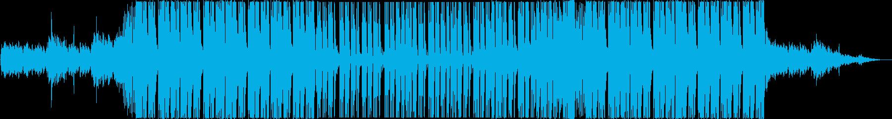 ゆったりとしたトロピカルハウスEDMの再生済みの波形