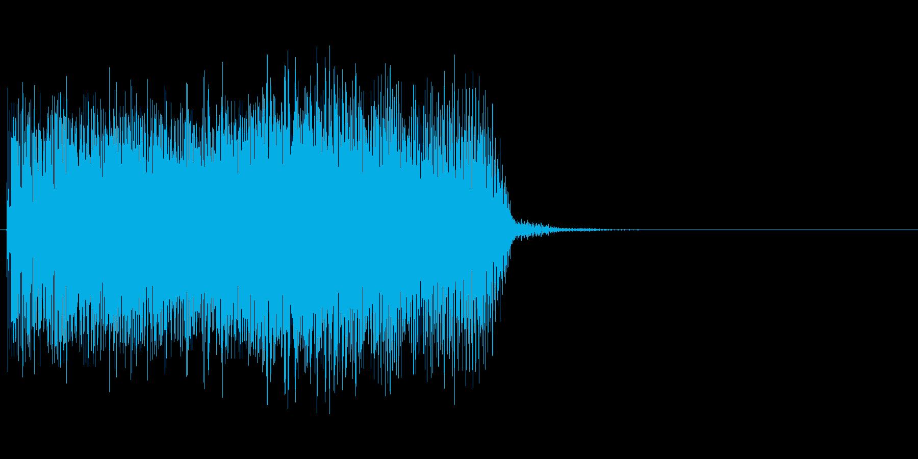ぎゅーん↑(メーター、上昇、チャージ)の再生済みの波形
