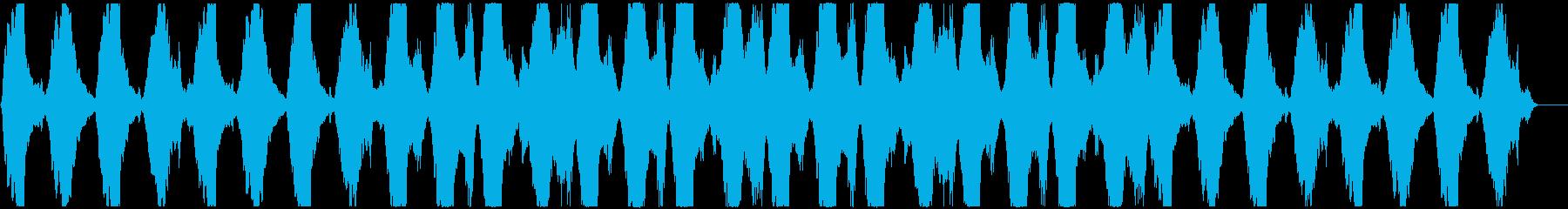 切なく寂しいストリングスBGMの再生済みの波形
