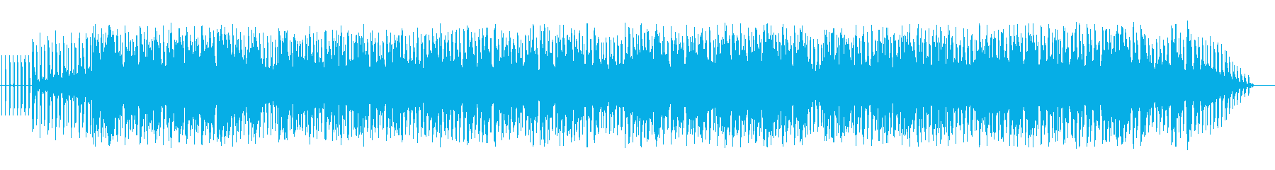 癒しの曲。の再生済みの波形
