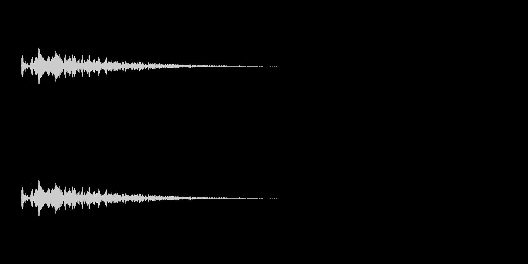 【光る07-3】の未再生の波形
