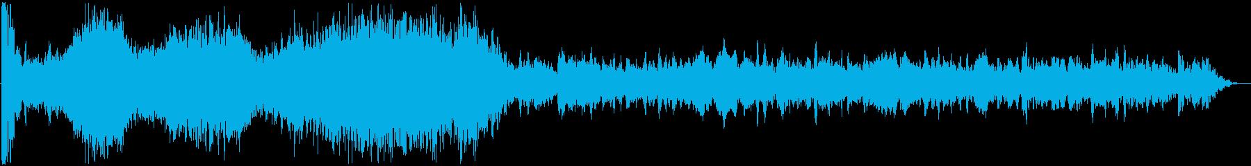 イメージ 低攻撃03の再生済みの波形