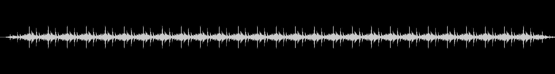 ガタンゴトンの未再生の波形