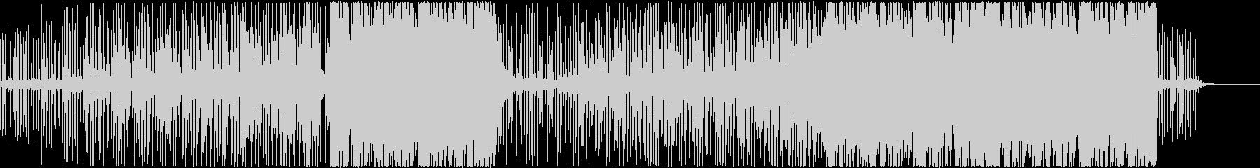 Future Bassぽいインスト曲の未再生の波形