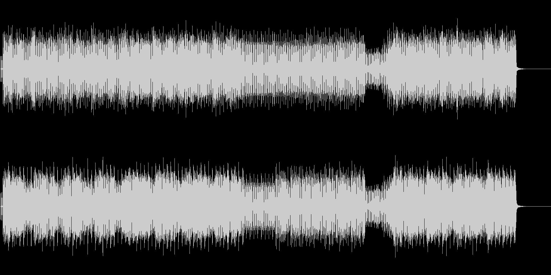 キラキラとのびやかな四つ打ちポップの未再生の波形