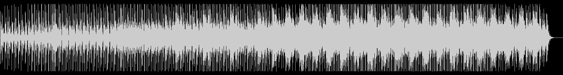 軽快でクールなチュートリアル向けBGMの未再生の波形