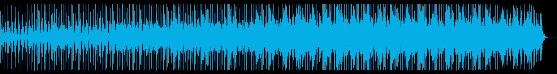 軽快でクールなチュートリアル向けBGMの再生済みの波形