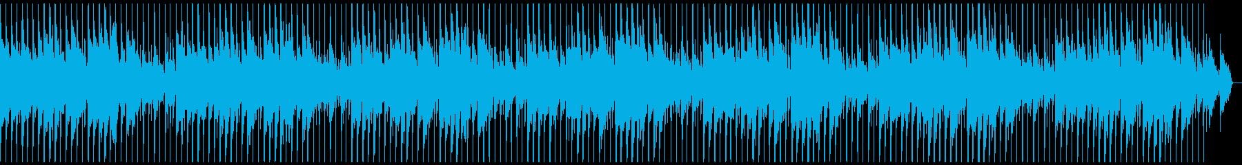 (生音)お洒落なバーでほろ酔い気分ビートの再生済みの波形