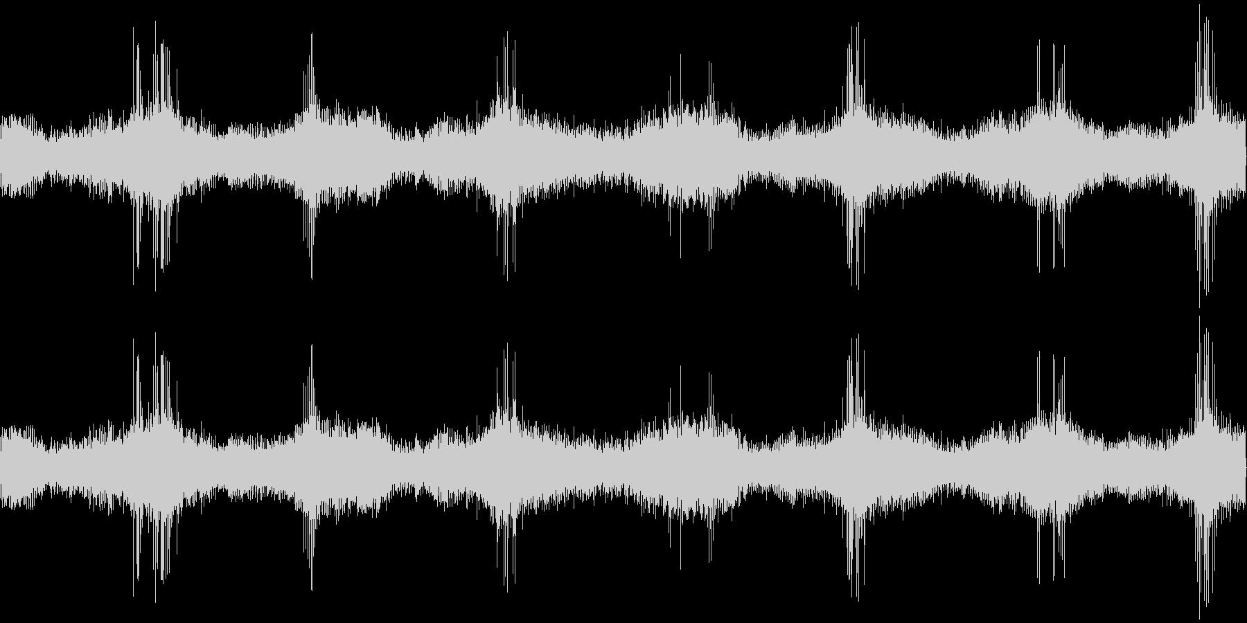 効果音、 電流③の未再生の波形