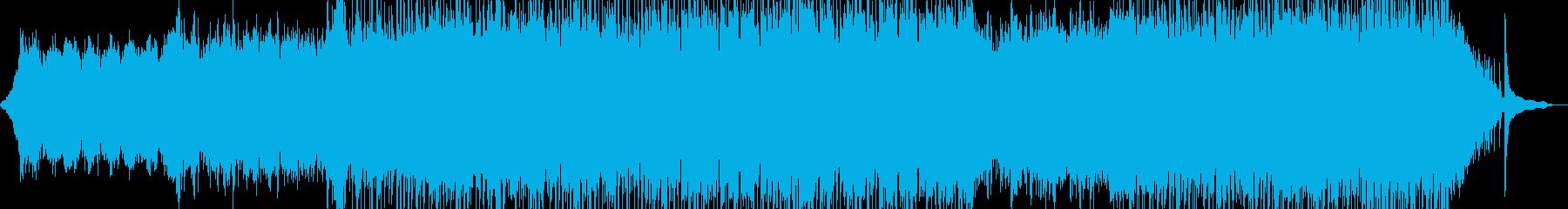 心地よい作品に・後半からポップスへ 短尺の再生済みの波形