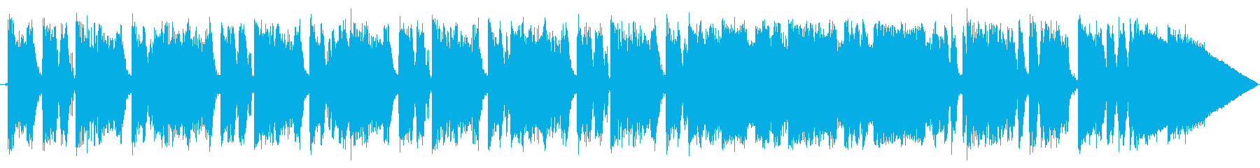 Funky time's reproduced waveform