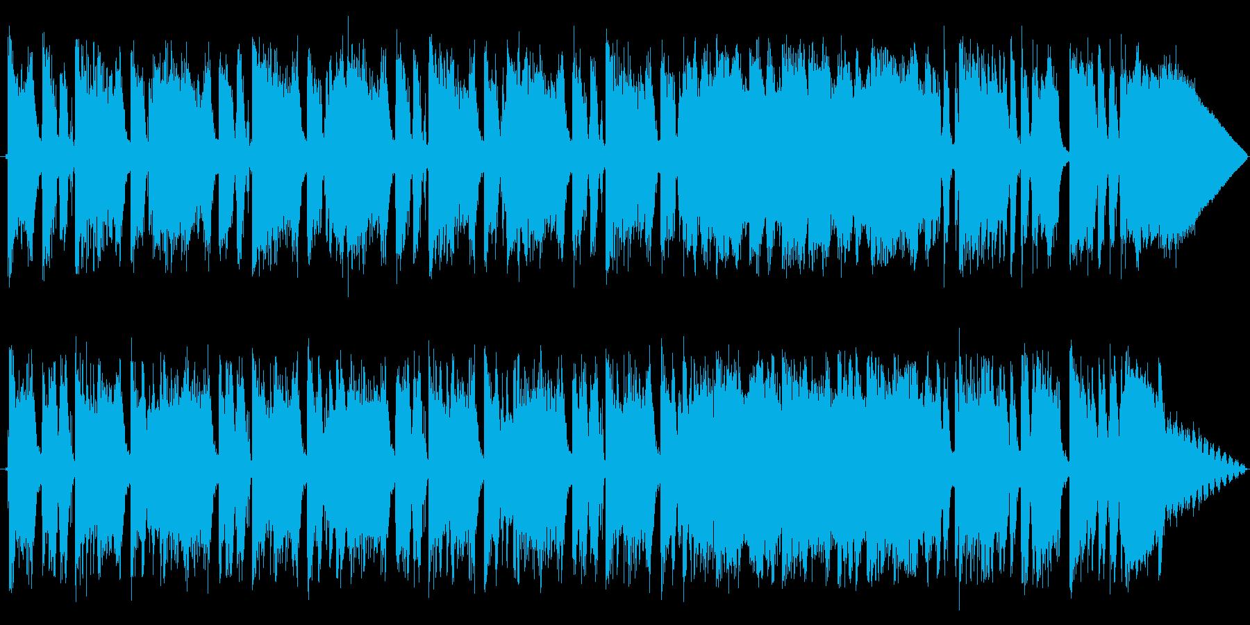 Funky Timeの再生済みの波形