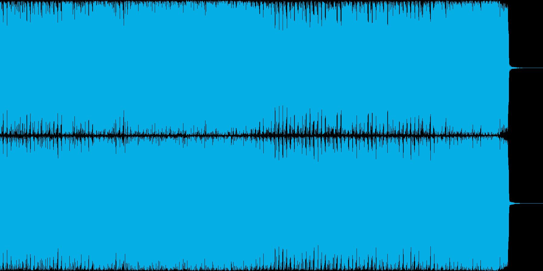 【EDM風】爽やか、ポップなCM、BGMの再生済みの波形