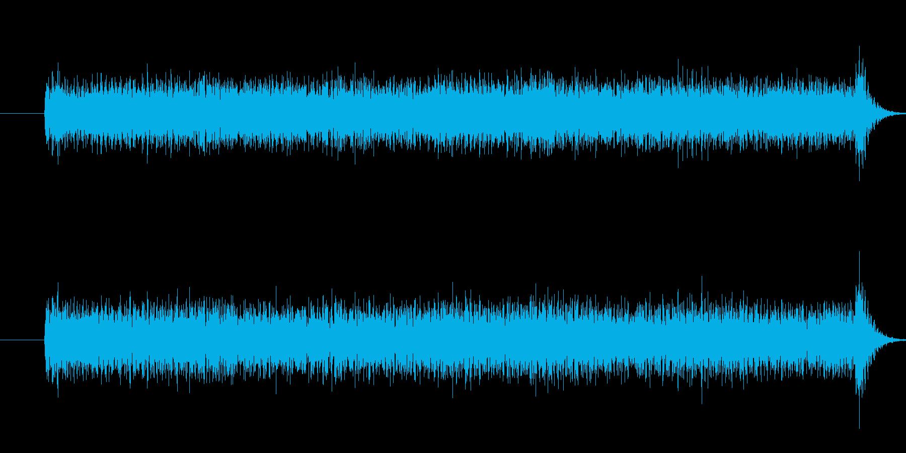 電撃_ビリリリリ_電気攻撃や電流装置の再生済みの波形