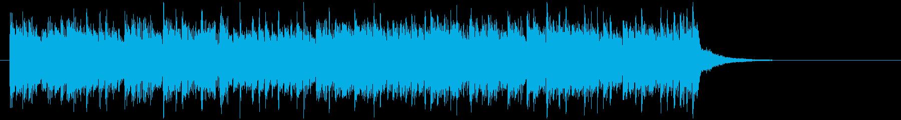 最先端で近代的なアップテンポ音楽の再生済みの波形