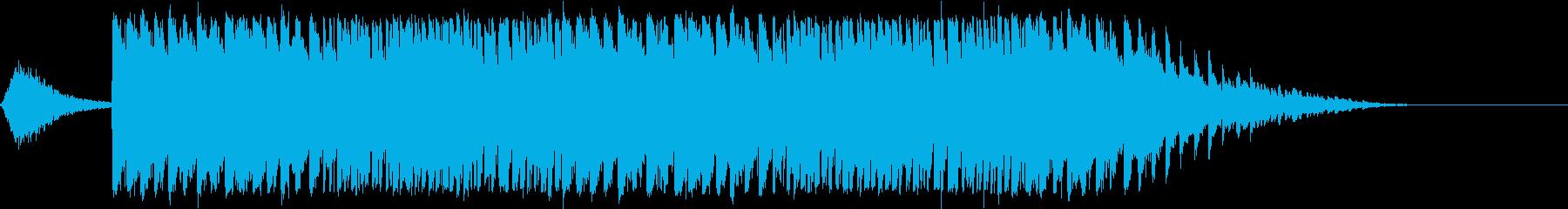 テーマパークの雰囲気の再生済みの波形