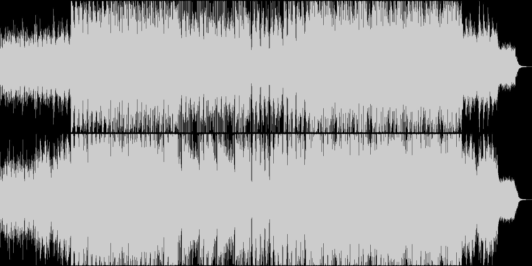 和風のポップなドラムンベースの未再生の波形