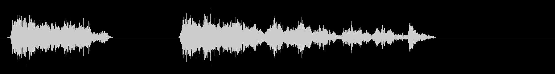 ホイッスル-グループ-2バージョンの未再生の波形