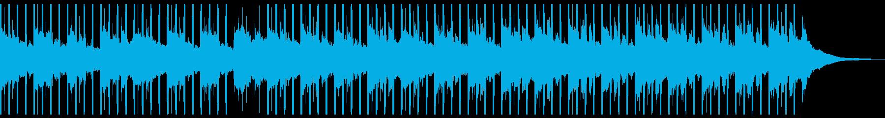 広告の背景(ショート1)の再生済みの波形