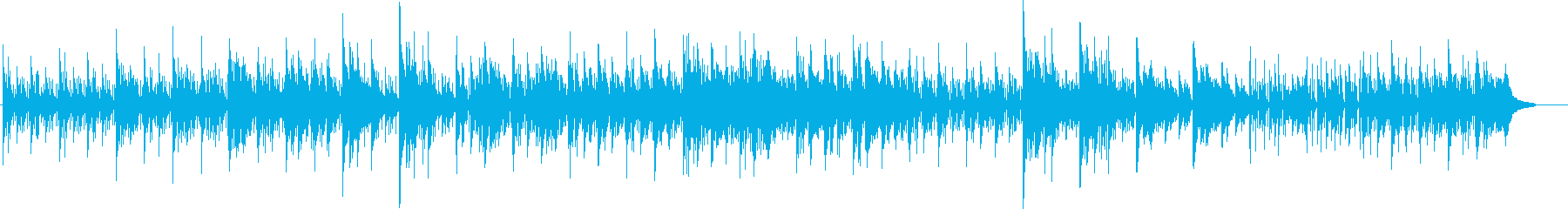 穏やかでぬくもりあるメロディーの再生済みの波形
