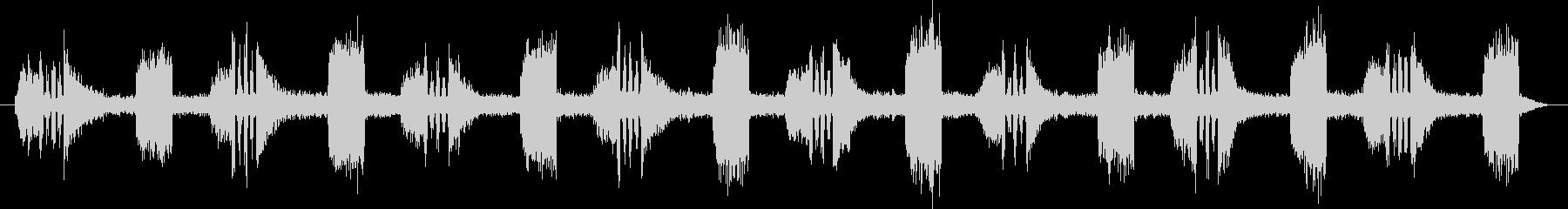 ブワワッワーブワワッワ… (パワー充電)の未再生の波形