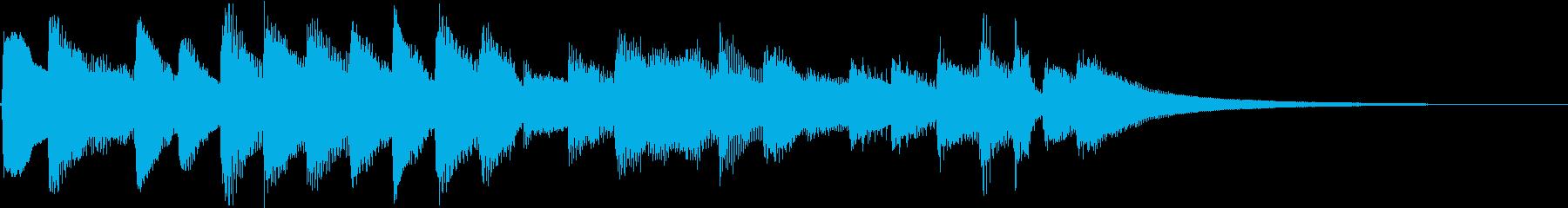 ゲーム音楽 宿屋の再生済みの波形