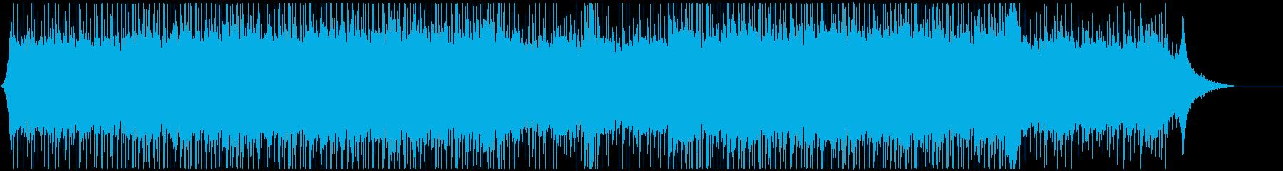 企業VP映像03/爽やかエレキギターの再生済みの波形