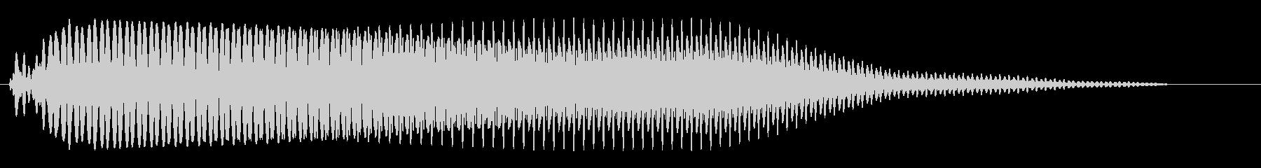 バイクのアクセルを踏んだときの音の未再生の波形