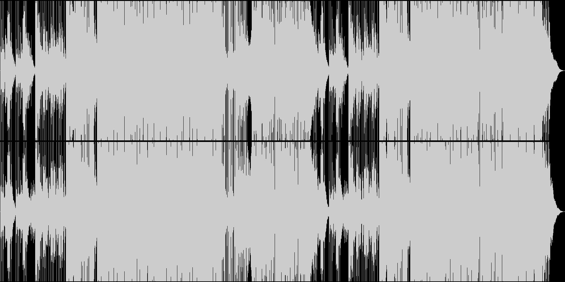 琴で奏でる和風Futur Bassの未再生の波形