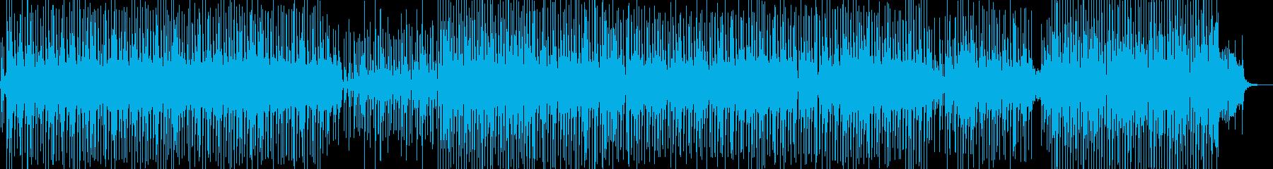 軽快・バカンスイメージのレゲェポップ ★の再生済みの波形