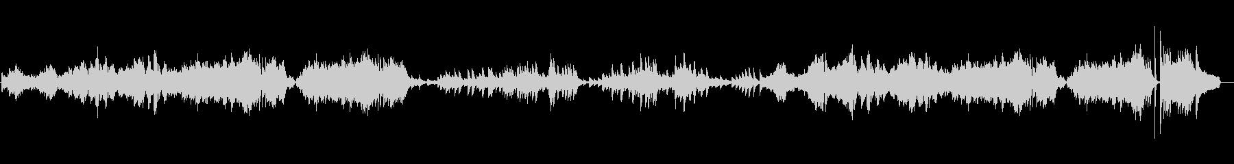 フレデリック・ショパン。ワルツのニ...の未再生の波形