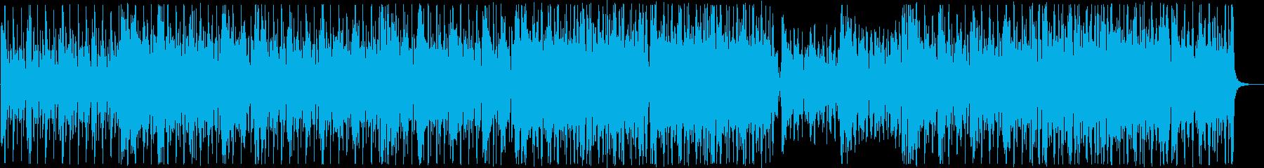 アダルトなファンク女声コーラス:声抜きの再生済みの波形