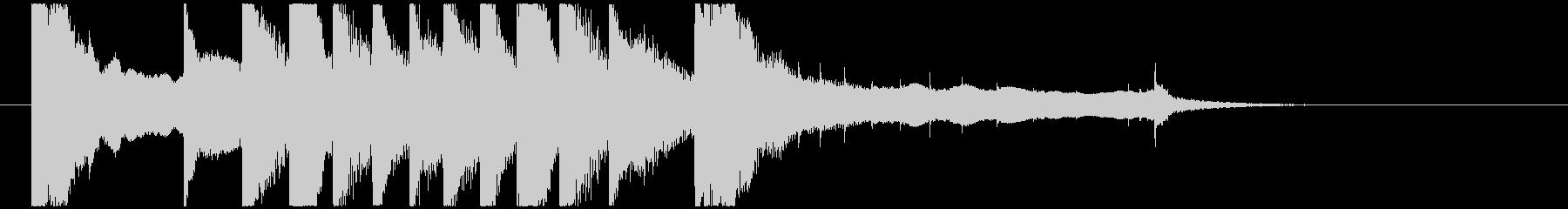 聞き馴染みのある和風・正月系ロゴ(C)の未再生の波形