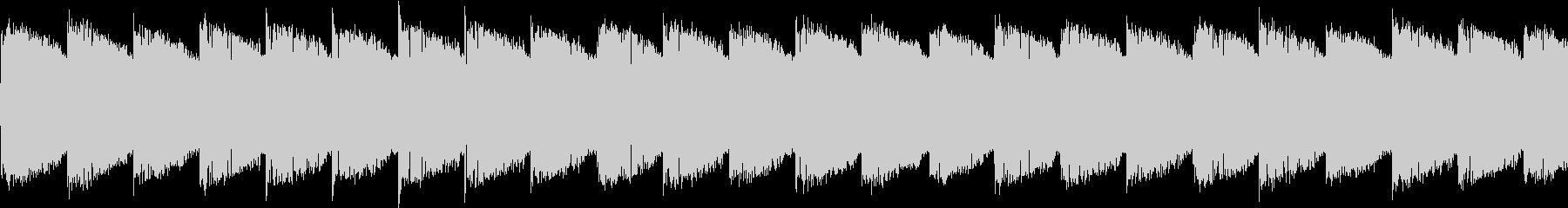 シンセ サイレン アナログ ピコピコ05の未再生の波形