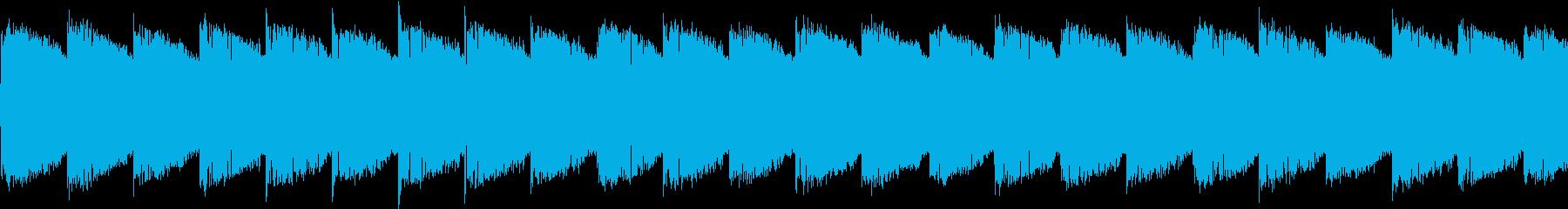 シンセ サイレン アナログ ピコピコ05の再生済みの波形