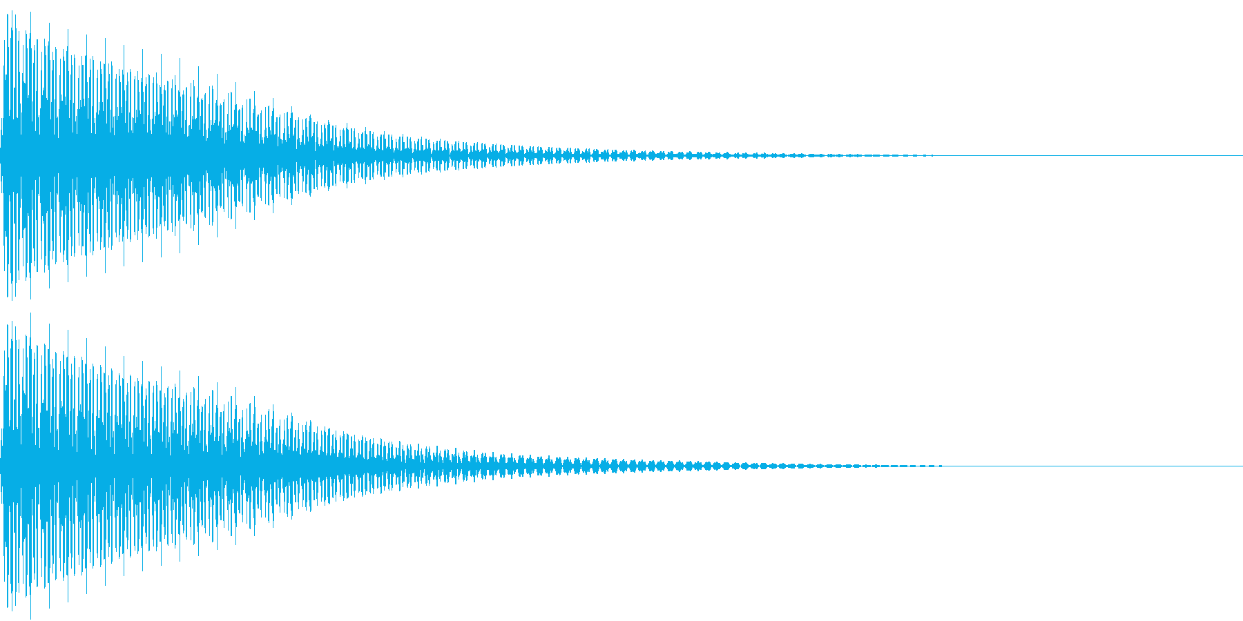 Cancel クールなコマンド音の再生済みの波形