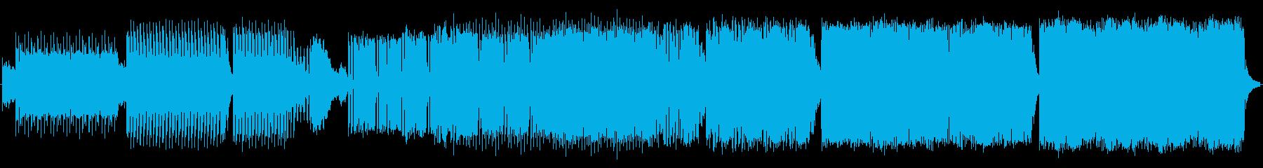 家。シンプルシンセメロディの再生済みの波形
