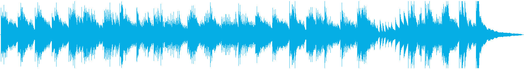有名バッハチェロ曲をギターとピアノにの再生済みの波形