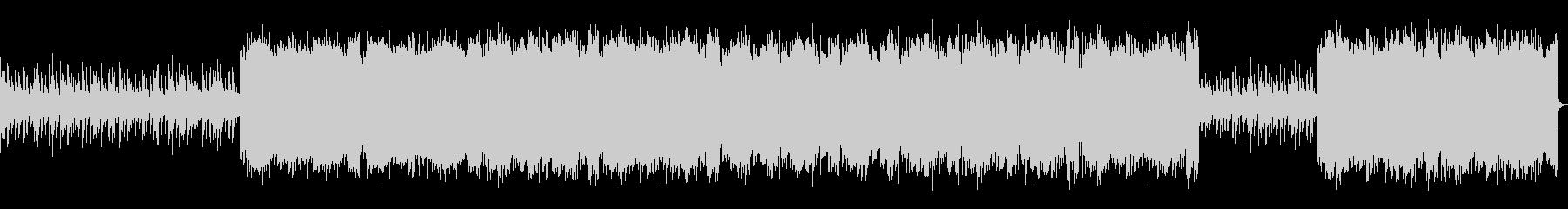 インダストリアルなロック_No652_1の未再生の波形
