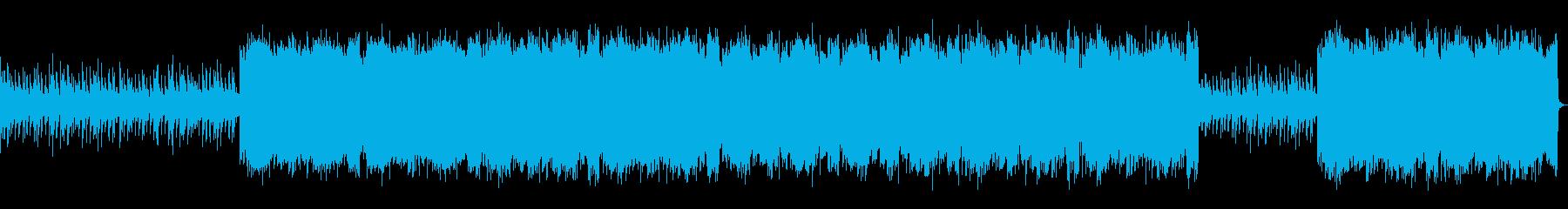 インダストリアルなロック_No652_1の再生済みの波形