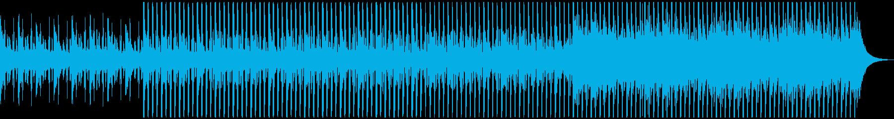 企業VPに!爽やか、穏やかピアノハウスMの再生済みの波形