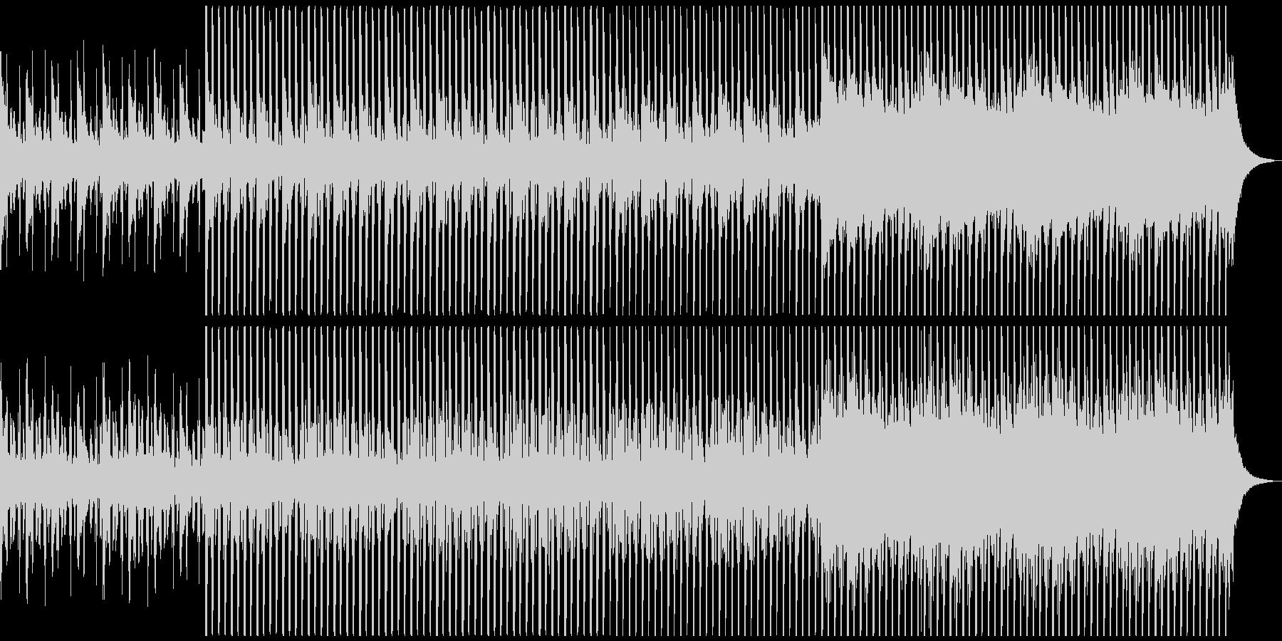 企業VPに!爽やか、穏やかピアノハウスMの未再生の波形