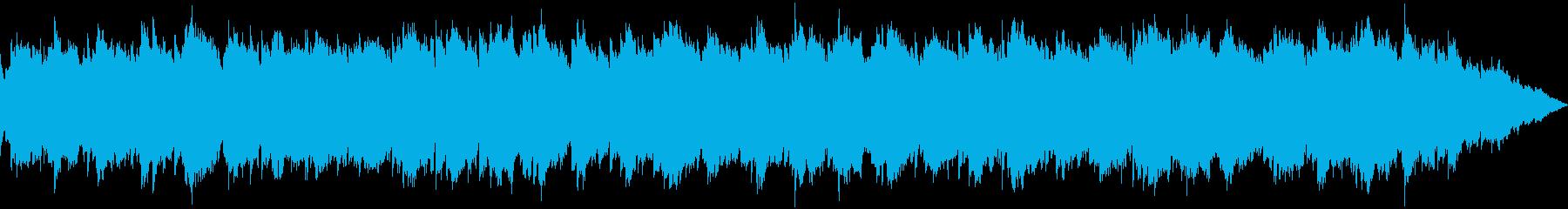 【主張しない背景音楽】ヒーリング5の再生済みの波形