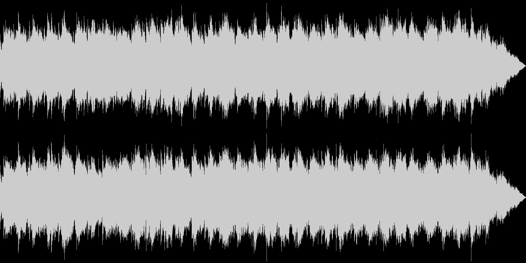 【主張しない背景音楽】ヒーリング5の未再生の波形