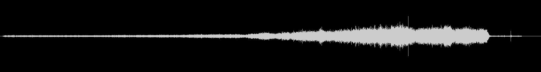 EXT:アプローチ、スロー、プルア...の未再生の波形