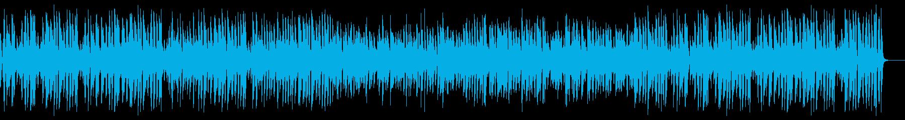 有名な誕生日の歌をお洒落なジャズにの再生済みの波形