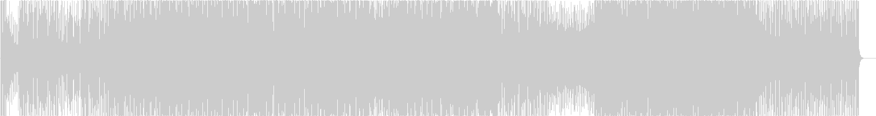 mudd echoの未再生の波形