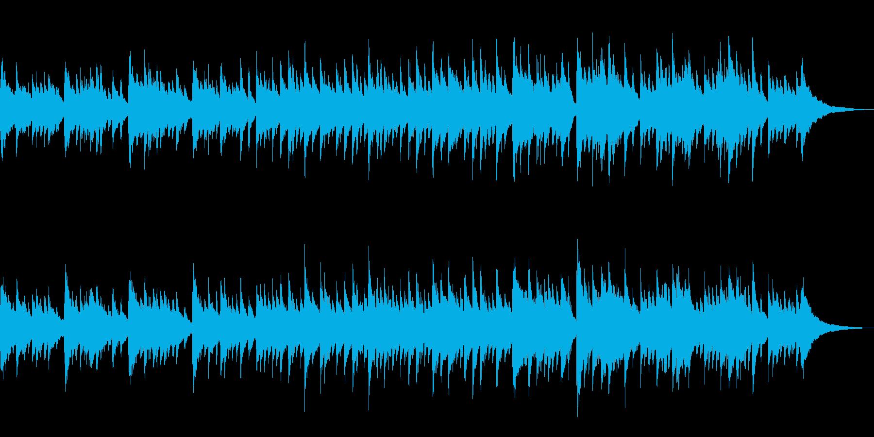 アコギ アルペジオが美しい爽やかなBGMの再生済みの波形