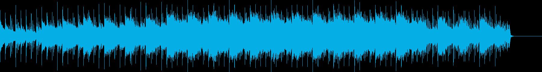 アコギとシンセ、カッコいい系BGMの再生済みの波形