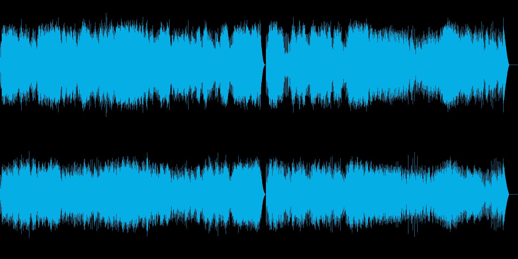 バッハ 無伴奏チェロ組曲 (オルゴール)の再生済みの波形